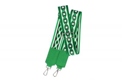 Curea de umar poliester si Leather Verde